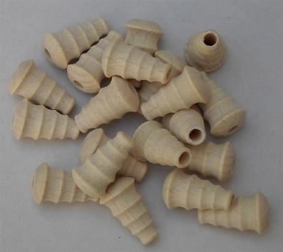 Trichterform mit Rillen 20 mm Länge