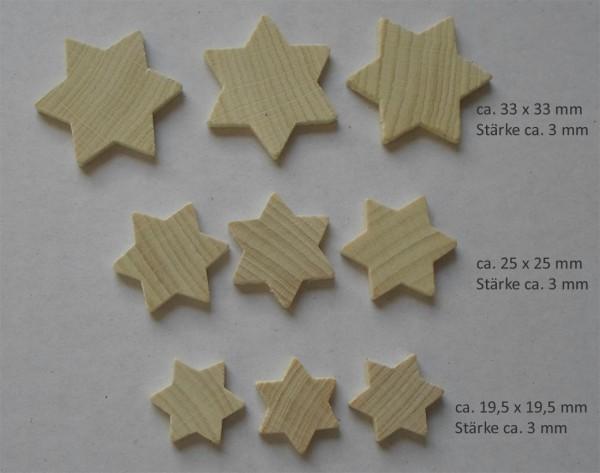 Streuteile Sterne - klein