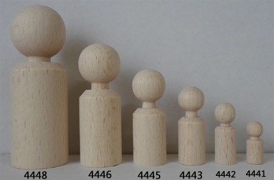 Figurenkegel zylindrisch, 80 mm hoch