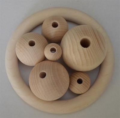 Holzkugeln 18 mm Ø
