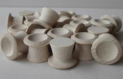 Zylinderhut aus Buche