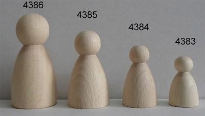 Figurenkegel Bauchig 38 mm hoch
