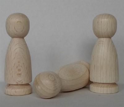 Figurenkegel mit Rille 73 mm hoch